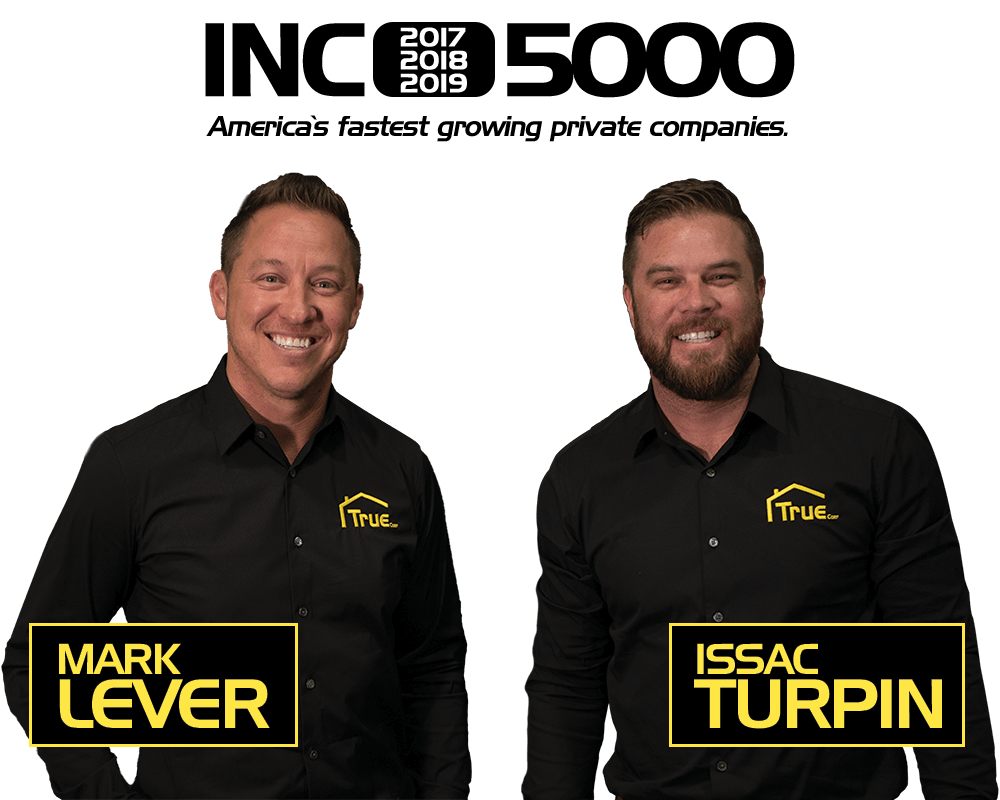 True Plumbers owners, Mark Lever and Issac Turpin.