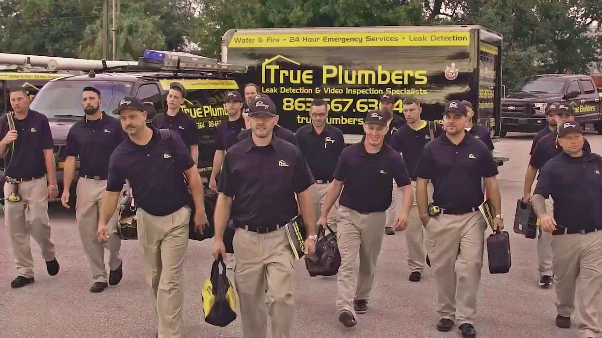 Plumbing crew serving Winter Haven, FL.